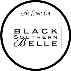 Black Southern Belle Badge